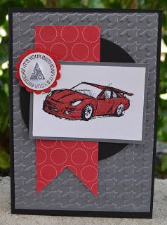 Need for Speed, A fitting Occassion, Stampin Up