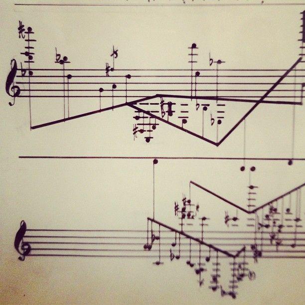 """""""Comporre, visto che significa scrivere note, è una vera e propria scrittura, e meno uno pensa di pensare più diventa quello che è: scrittura"""" John Cage"""