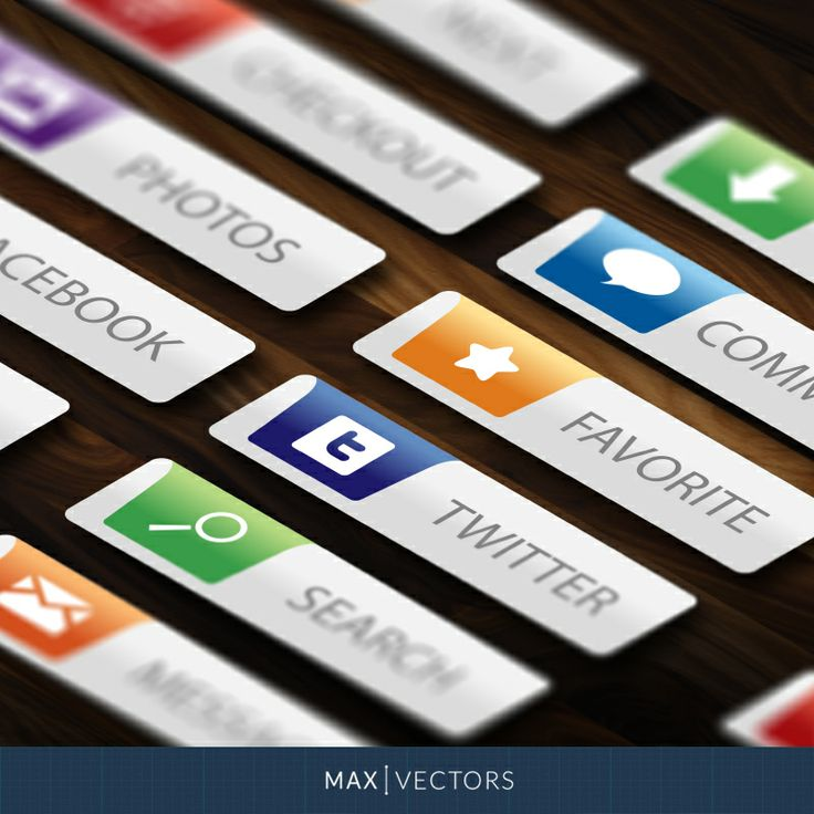 Cool Web Buttons | MaxVectors