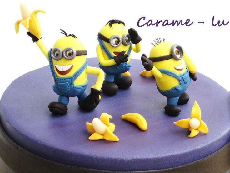 Tarta Minion Minions Tartas Minions Y Pasteleria Creativa