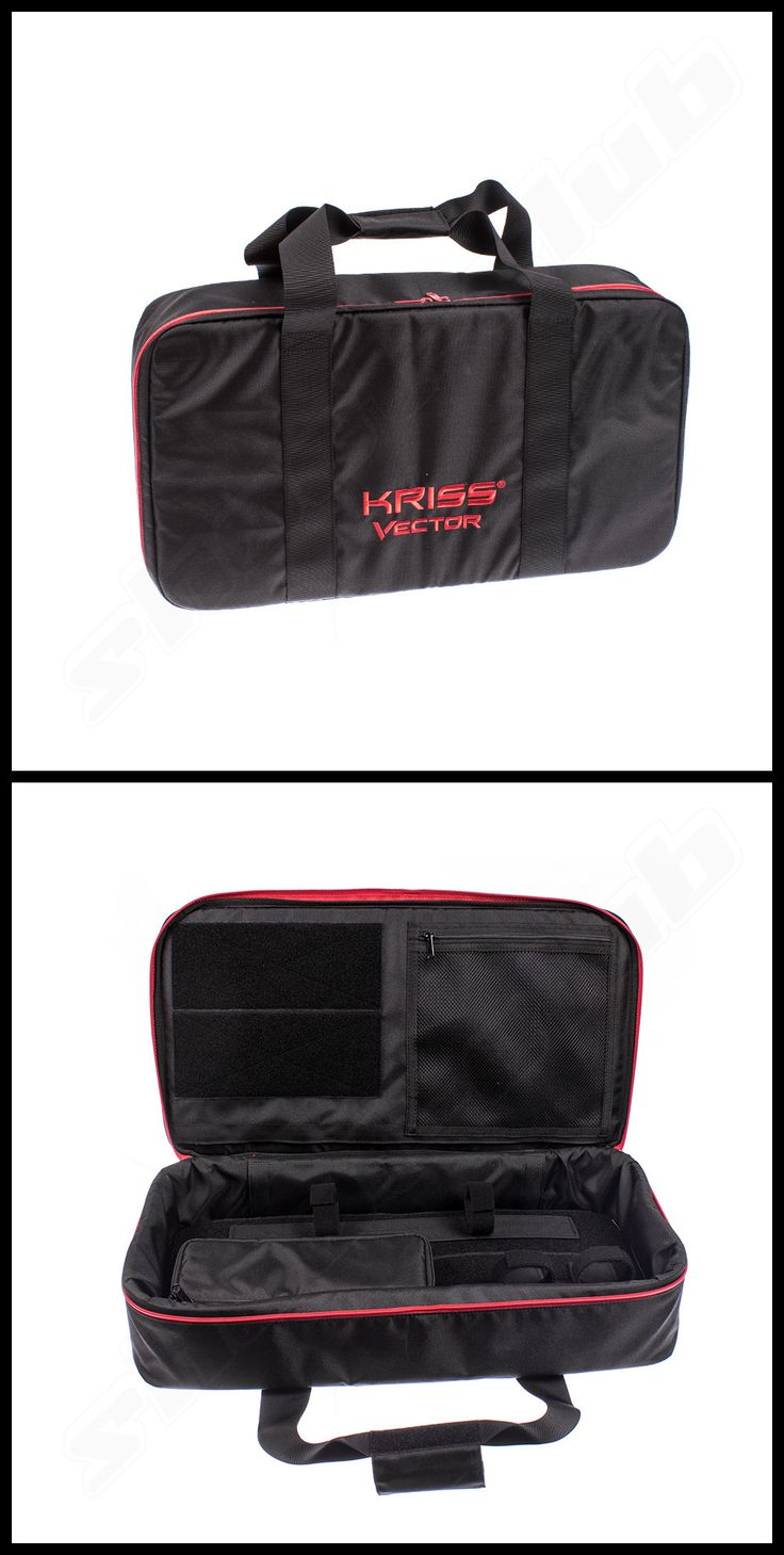 Satellit official licensed Kriss Vector Gun Case schwarz / Rot Größe M    - weitere Informationen und Produkte findet Ihr auf www.shoot-club.de -    #shootclub #guns