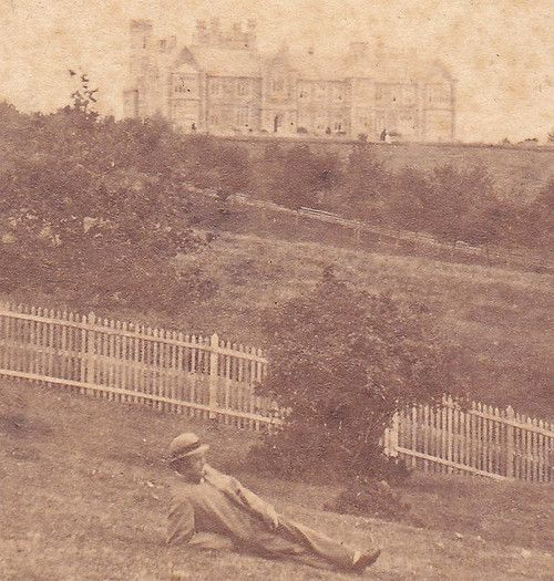 Government House, Tasmania circa 1865.