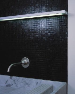 Serien SML Wall T5 Alu silber eloxiert Wandleuchte - getlight.de