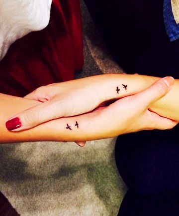 33 Amazing Tattoos to Get With Your Best Friend Because ink is forever--just like your friendship