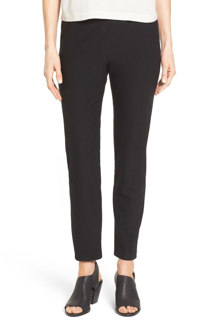 Eileen Fisher Slim Ankle Pant (Regular