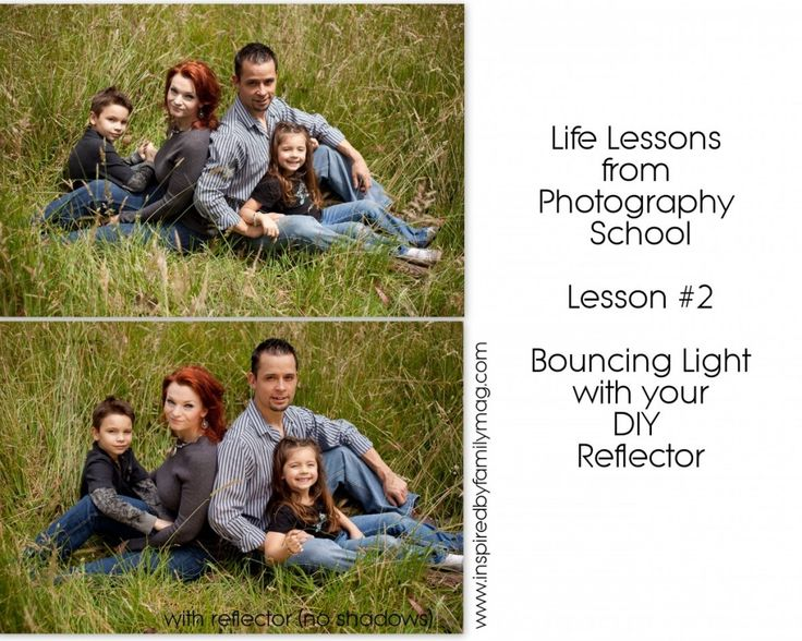 I can't believe how much of a difference using a reflector has been for both my indoor and outdoor sessions!