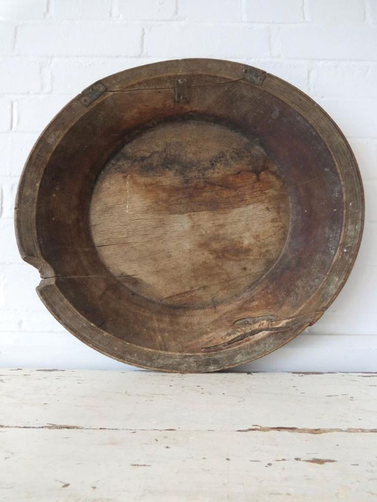Antique Extra Large Rustic Wooden Fruit Bowl Hand Carved Trencher   Antiques, Woodenware, Bowls   eBay!