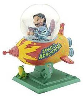 Disney Lilo and Stitch kiddie ride Snowglobe