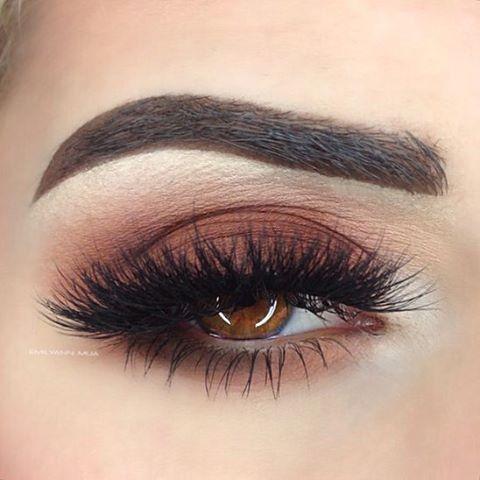 "Eye details: @thekatvond @katvondbeauty Shade Light Eye Contour Palette (Ludwin Succubus Shax) @anastasiabeverlyhills ""Dark Brown"" Dip Brow @vegas_nay @eylureofficial Grand Glamour Lashes by emilyann_mua"