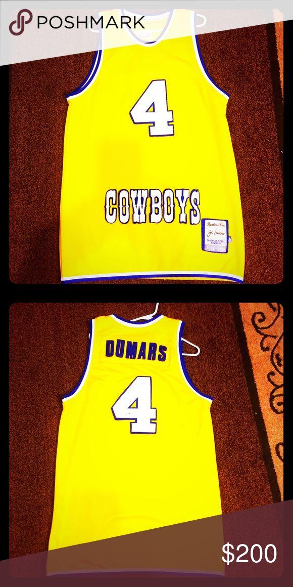 🚨***RARE*** Joe Dumars McNeese State Jersey 🚨 Joe Dumars McNeese State University Cowboys Authentic College  Jersey headmaster Other