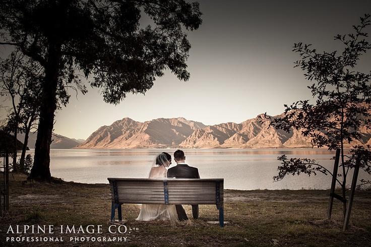 Wanaka Wedding - Photography by Alpine Image Co. Ltd