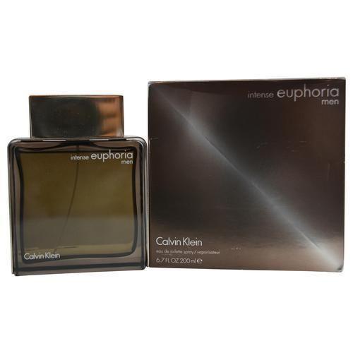 Euphoria Men Intense By Calvin Klein Edt Spray 6.8 Oz