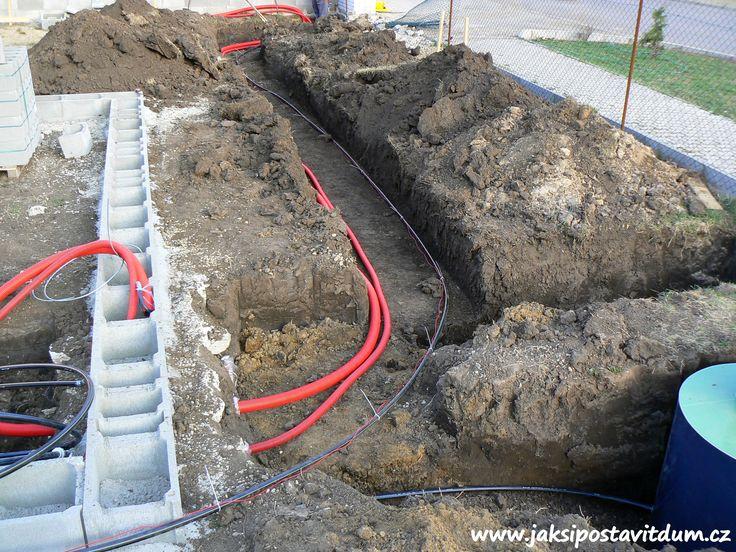 2. ETAPA | ZÁKLADY DOMU | Zhotovení elektroinstalačního systému