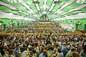 Cool image from:   The 2013 Oktoberfest Beer Tents: A Complete List: Schottenhamel Tent.  ...Here is a list of some of the most popular beer tents at Oktoberfest; entrance to all of them is free, and you don't need tickets. However, you can reserve a table beforehand. Check out our step-by step guide How to Reserve a Table in a Beer Tent and find out the Opening Hours of Beer Tents...