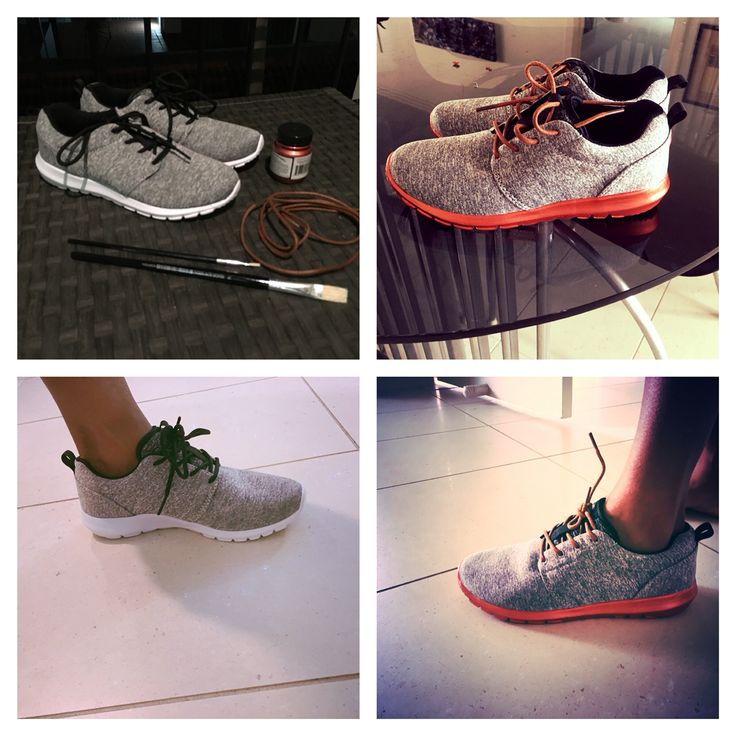 Shoes transformation