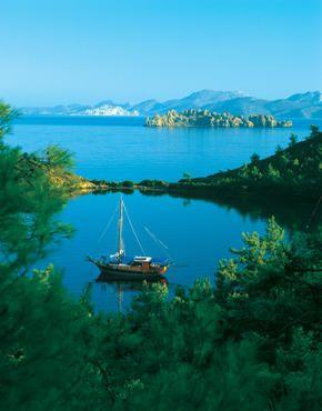 Gocek, Fethiye, Turkey-Exclusive Gulet cruises from the Gocek Harbour