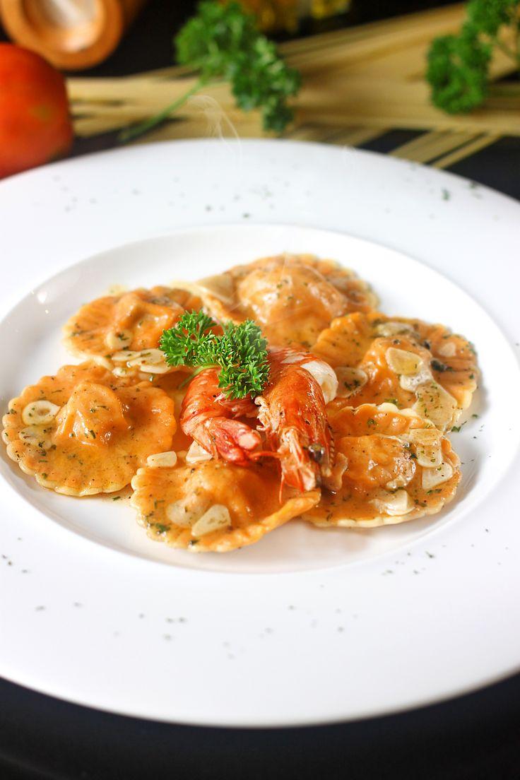 RAVIOLI ARASGOSTA   A pleasure Ravioli, special from Bianco   #Ravioli #Italianfood #italy #food