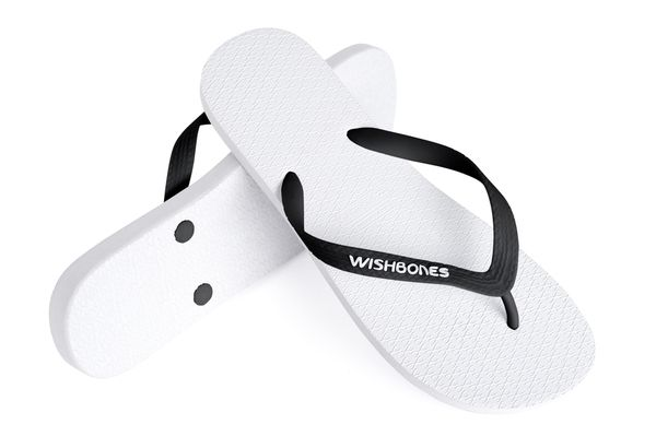 #Wishbones the high quality natural rubber flip flop with a social conscience. Every purchase means another pair to someone in need #WearHappiness #Indiegogo Twitter: ℳʊṧтƒϴℓłϴω @Wishbones Flip-Flops
