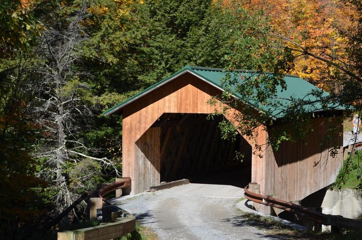 Covered Bridges are everywhere in Vermont.