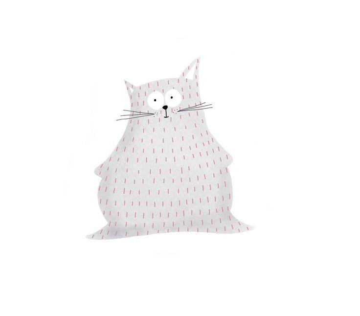 Fatty cat by Maria Velat