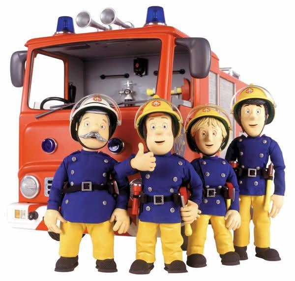 Feuerwehrmann Sam zum Download - MannMitMaus.de
