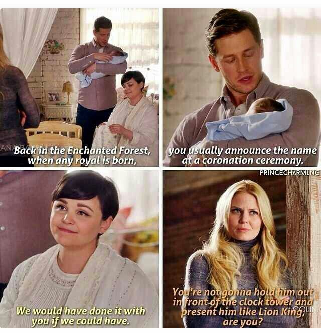 Once Upon a Time | Discussion about the Baby Name