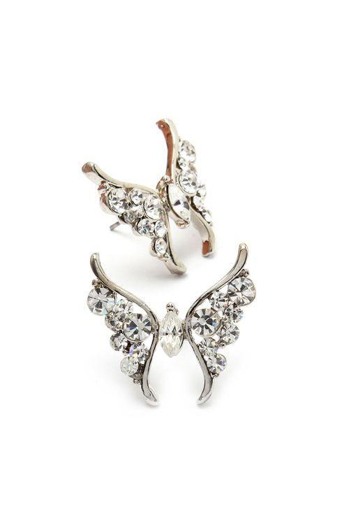 butterfly earrings <3