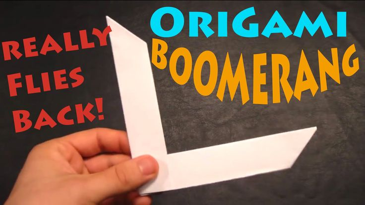 how to make a boomerang with photos