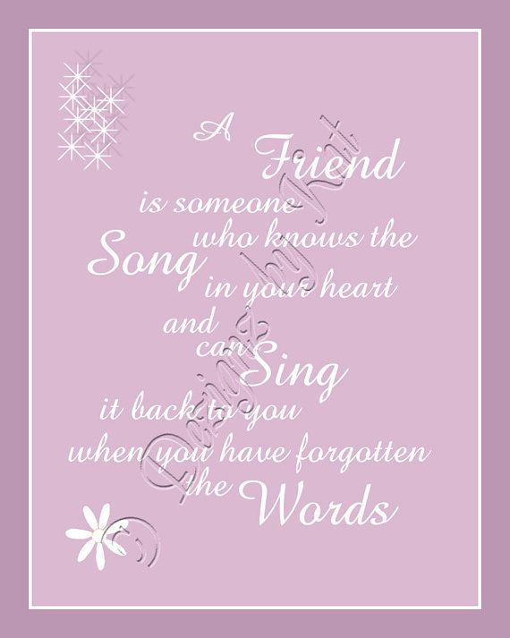 Wall Art Quotes........BFF