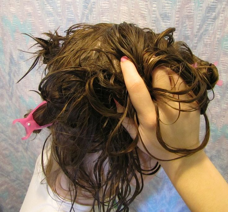 How to Scrunch Hair -- via wikiHow.com