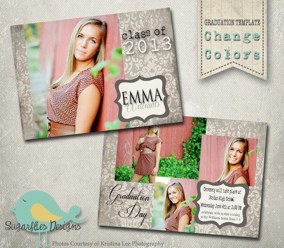 17 best do it yourself crafts images on pinterest grad parties graduation announcement photoshop template senior graduation 6 solutioingenieria Gallery