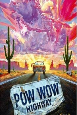 It's a road movie starring Gary Farmer and A. Martinez.  It came out in 1989.It's on instant viewing on Netflix. #NDN #NativeAwesome