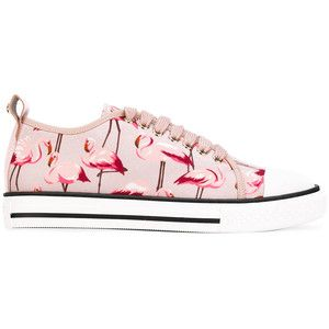 Red Valentino flamingo print sneakers · Chaussures De Baskets  RosesEspadrilles FemmesChaussures ... 8873efe8019f