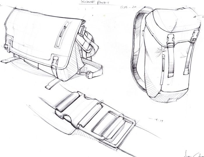 Sweet Bags Id Design Product Sketch