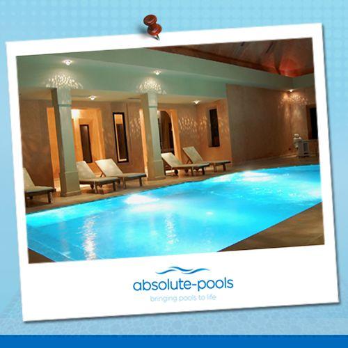 Indoor swimming pools.   Something we are very good at.  #absolutepools #MyDubai #UAE