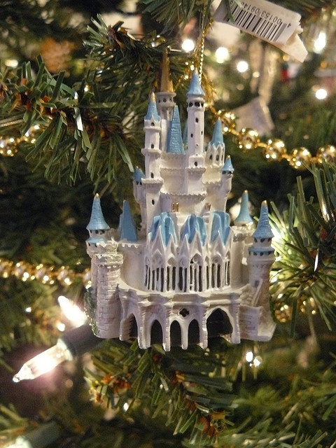 Disney ornament castle by aprilhite741, via Flickr