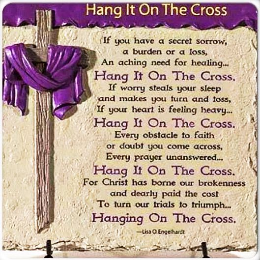 Download Hang it on the CROSS | Easter poems, Easter speeches ...