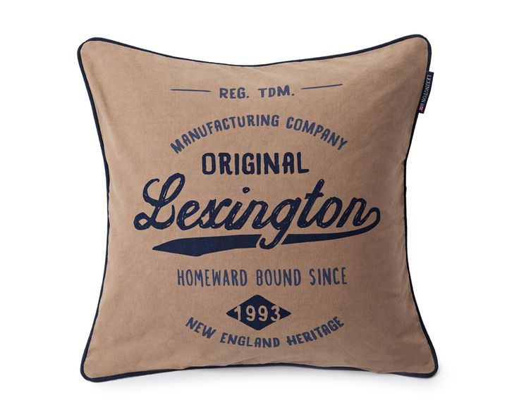 Lexington Cushion Logo Sham 50 x 50 cm Spring2016