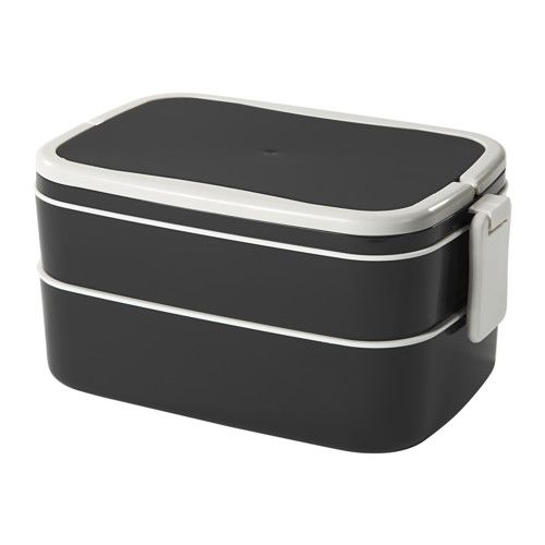 IKEA - FLOTTIG, Boîte repas, Cette boîte pour repas est idéale pour apporter son déjeuner au bureau ou à l
