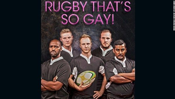 South Africa's Jozi Cats, the first gay rugby team in africa, is using provocative advertising campaign to recruit members to its club. In the macho world of sports, it's not