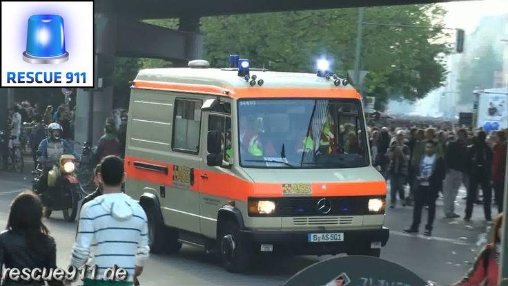 1. Mai Demo - Rettungsdienst Berlin