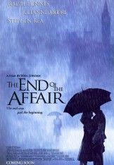 Filmul The End of the Affair ne trimite inapoi in anul 1946 unde, intr-o noapte ploioasa din Londra, romancierul Maurice Bendrix il intalneste pe Henry Miles, sotul fostei sale amante pe nume Sarah, cu care a avut o aventura cu doi ani in urma si care s-a terminat brusc lasand multe intrebari. Sarah