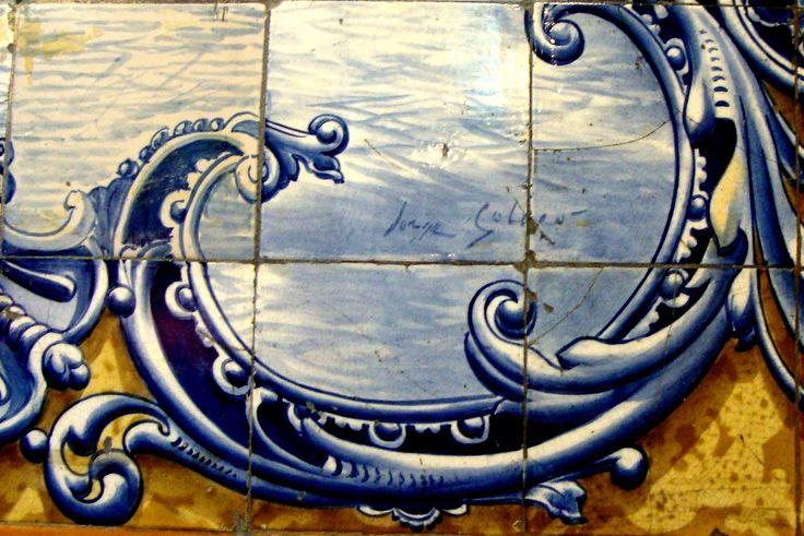 Jorge Colaço | Lisboa | Rua Condes de Monsanto, 4 [© Patrícia Nóbrega] #Azulejo #Lisboa #JorgeColaço