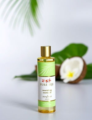 Pure Fiji Exotic Bath & Body Oil - Starfruit Infusion  Pure Fiji Product Tropical, Natural, Organic Body Care