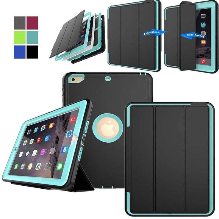 Shockproof Protect Duty Case Smart Cover for iPad 2 3 4 mini Air Pro 2017 lot