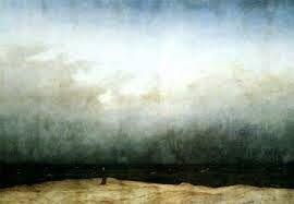 I Letterandi: Caspar David Friedrich- Monaco in riva al mare