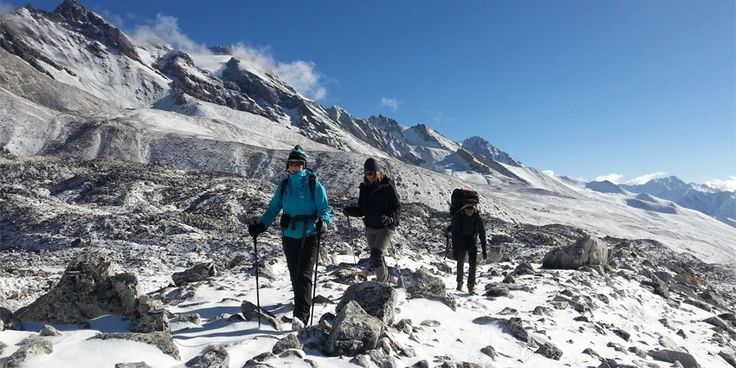 Nepal Trekking is regular mountain journeys on foot lasts few days or weeks to explore the Himalaya, landscape, glacier, wildlife, plant, waterfall, and people.