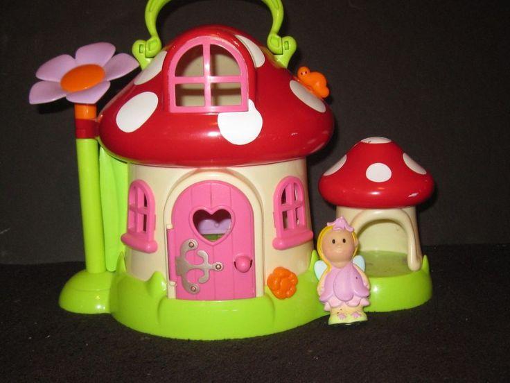 Little People Fairy Treehouse Part - 27: ELC Little People Fairy House U0026 Fairy Toy Lot #ELC