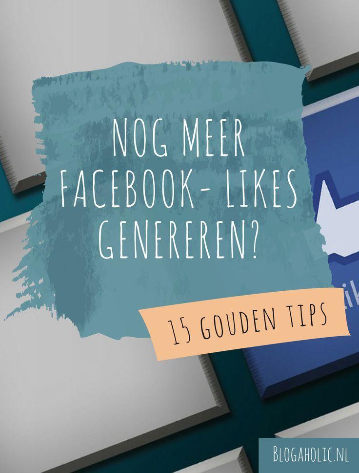 Een struggle van veel bloggers: het aantal Facebook-likes gaat zo langzaam. Om je op weg te helpen, verzamelde ik 15 tips voor het genereren van meer likes én interactie.