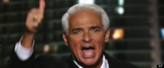 "Former Republican Governor Charlie Crist has officially joined the Democratic Party. Crist, who served as governor of Florida from 2007 to 2011, left the Republican Party after losing a Senate primary battle to Marco Rubio in 2010. The newly christened Democrat tweeted the big announcement Friday evening. The change became official at a White House Christmas reception where ""President Obama greeted the news with a fist bump."" He said, ""I didn't leave the Republican party, it left me."""